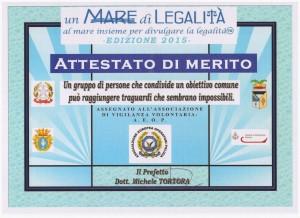 Un Mare di Legalità 2015
